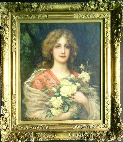 Antonio Torres Spanish, b.1851 YOUNG BEAUTY WITH