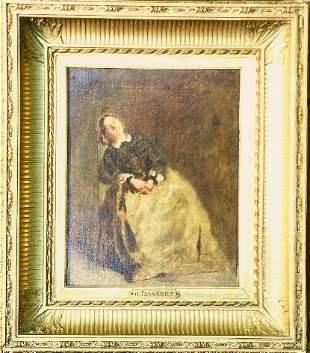 Nicolas Francois Octave Tassaert French, 1800-187