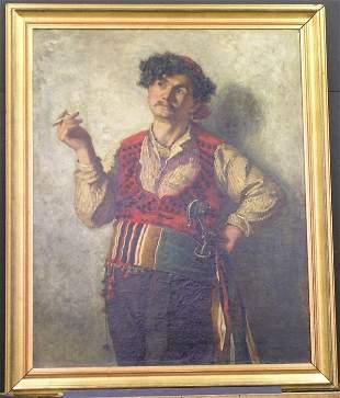 Walter Satterlee American, 1844-1908 SPANISH GYPS
