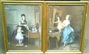 Constant Joseph Brochart French, 1816-1899 THE LE