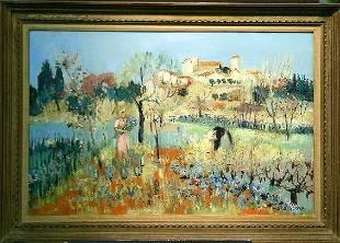 Yolande Ardissone French, b. 1927 JARDINS - DE LA