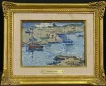2097: Fernand Herbo French, 1905-1995 ST. GILLES SUR VI