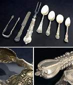2319: Group of Tiffany & Co. Sterling Silver Flatware