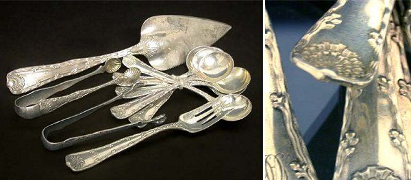 2321: Group of Tiffany & Co. Sterling Silver Flatware