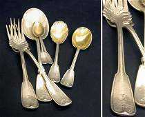 2322: Group of Tiffany & Co. Sterling Silver Flatware