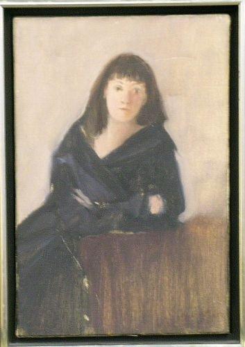 3004: J. Bertrand 20th Century WOMAN IN BLACK