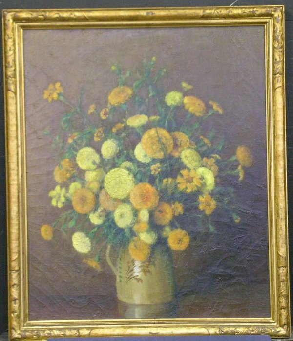 3006: Carle Johann Blenner American, 1862-1952 MARIGOLD
