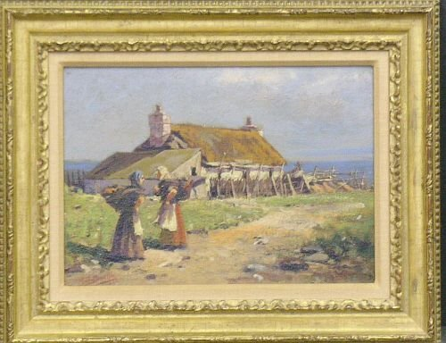 3010: Milton James Burns American, 1853-1933 THE GOSSIP