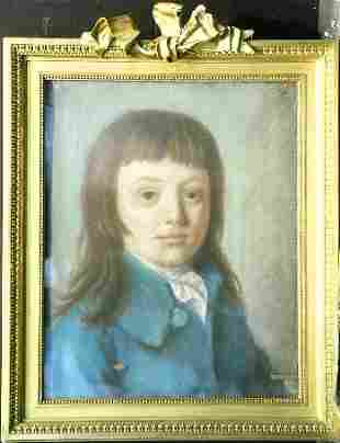 French School 18th/19th Century PORTRAIT OF A YOUNG
