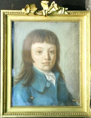 7: French School 18th/19th Century PORTRAIT OF A YOUNG