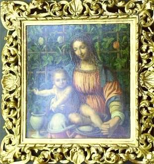 Manner of Francesco Melzi MADONNA AND CHILD