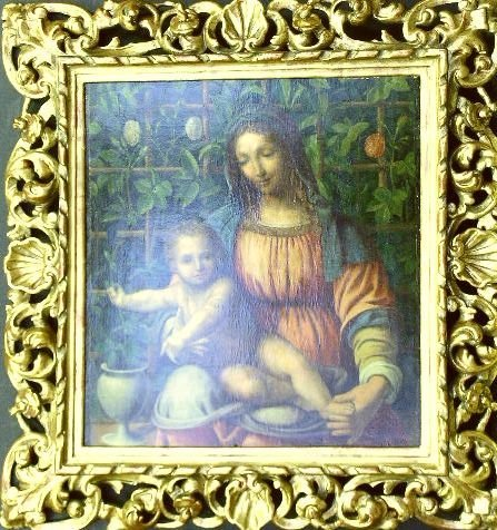 8: Manner of Francesco Melzi MADONNA AND CHILD