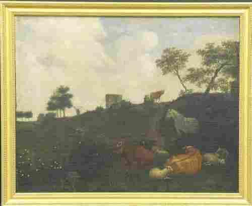 Follower of Aelbert Cuyp 18th Century SHEEP IN A PAS