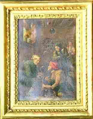 Manner of David Teniers OPERATION