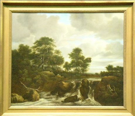 15: Manner of Jacob van Ruisdael CASCADE