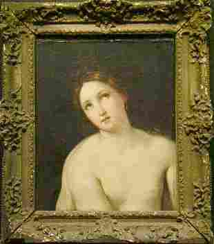 Circle of Guido Reni YOUNG WOMAN