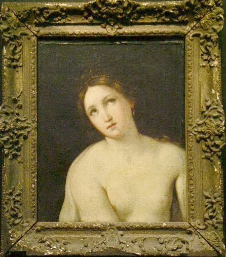 19: Circle of Guido Reni YOUNG WOMAN