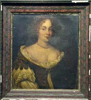 Circle of Sir Peter Lely PORTRAIT OF A WOMAN