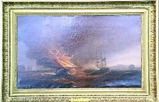 James Miller Huggins British, 19th century BLAZING