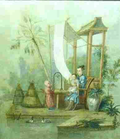 52: Manner of Francois Boucher TABLEAU CHINOIS