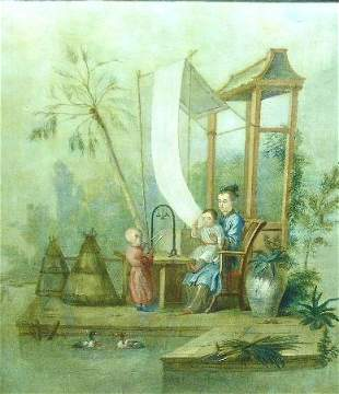 Manner of Francois Boucher TABLEAU CHINOIS