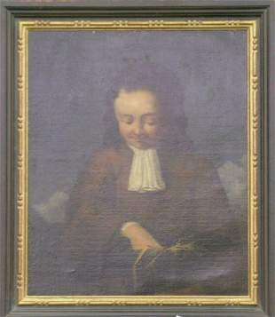 Continental School 18th Century PORTRAIT OF A BOY W