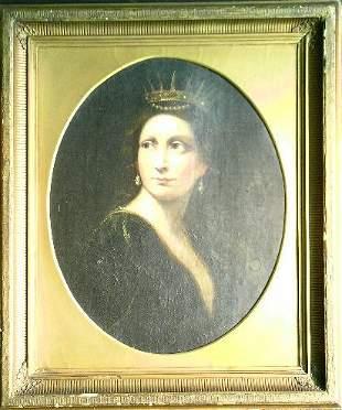 Italian School 17th Century SAINT CATHERINE OF ALEX