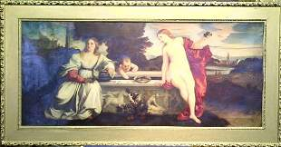 After Titian ALLEGORY OF SACRED AND PROFANE LOVE