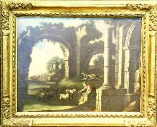 Manner of Philipp Peter Roos ROSA DA TIVOLI: FIGURE