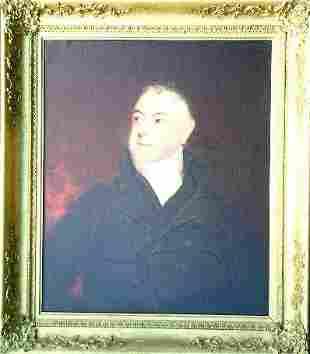 British School 19th Century PORTRAIT OF A MAN