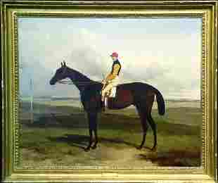 Harry Hall British, 1814-1882 CAPTAIN LOWTHER'S 'TH