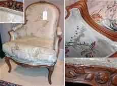 365 Louis XV Beechwood Bergere