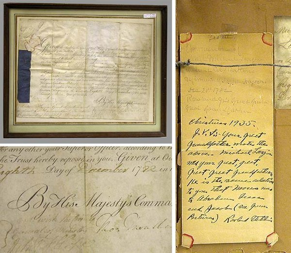 1013: GEORGE III KING OF ENGLAND Document signed
