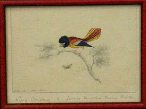 2003: Kieran Smith American, 19th century BIRD ON A BRA