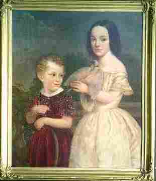 American School 19th Century PORTRAIT OF ALBERT C