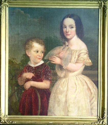 2005: American School 19th Century PORTRAIT OF ALBERT C