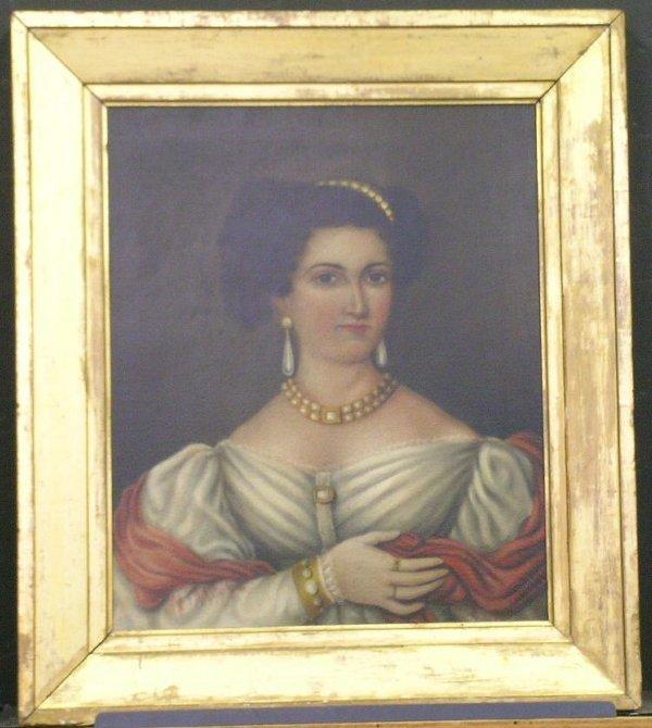 2010: Daniel F. Ames Mid 19th Century PORTRAIT OF A LAD