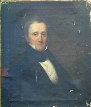 Daniel Huntington American 1816-1906 PORTRAIT OF