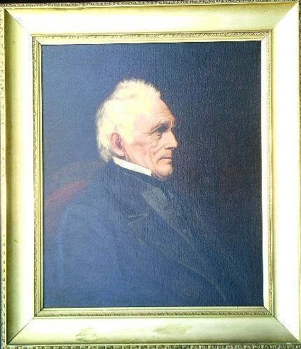 2014: American School 19th Century PORTRAIT OF CAPTAIN