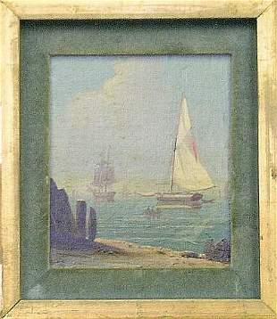 American School 19th Century SHIPS OFFSHORE