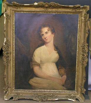 Attributed to Thomas Sully PORTRAIT OF AN UNKNOWN