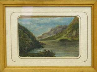 American School 19th Century RIVER LANDSCAPE