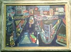 2041: Ralph Fasanella Italian/American, 1914-1997 GREEN
