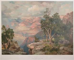 After Thomas Moran GRAND CANYON OF ARIZONA FROM H