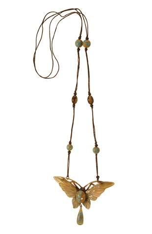 Bonte Butterfly Pendant Necklace