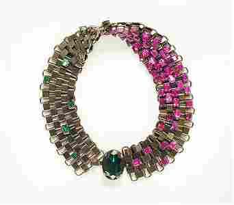 3264: Yves Saint Laurent Wide Collar