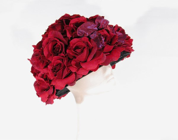 3668: Fred Bare Opulent Rose Hat
