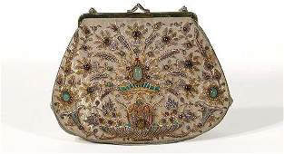 3677: Jeweled Indian Handbag