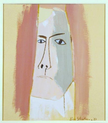 1: Ben Shahn American, 1898-1969 PORTRAIT