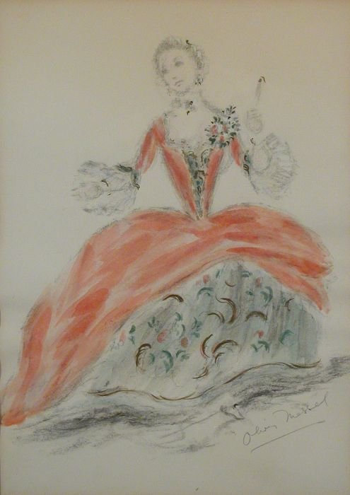 13: Oliver Hilary Sambourne Messel British, 1904-1978 C